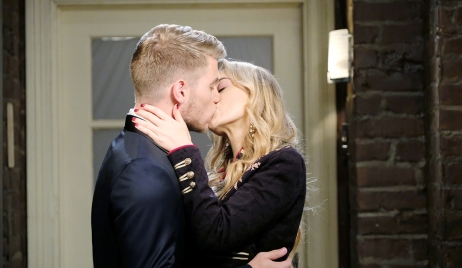 tripp and claire steal kiss days of our lives