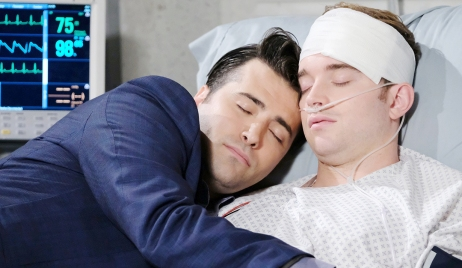 sonny snuggles will hospital after surgery days of our lives
