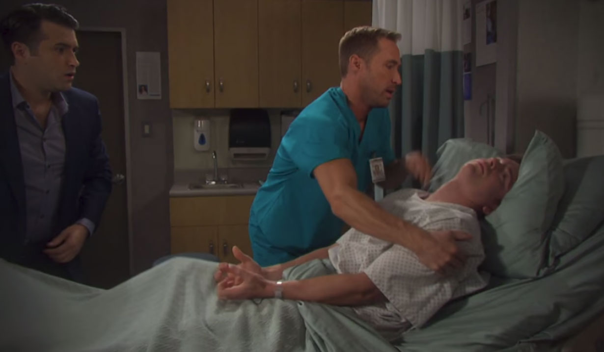 will has a brain tumor on days of our lives