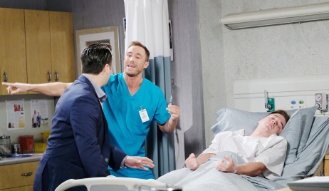 will seizes in hospital days of our lives