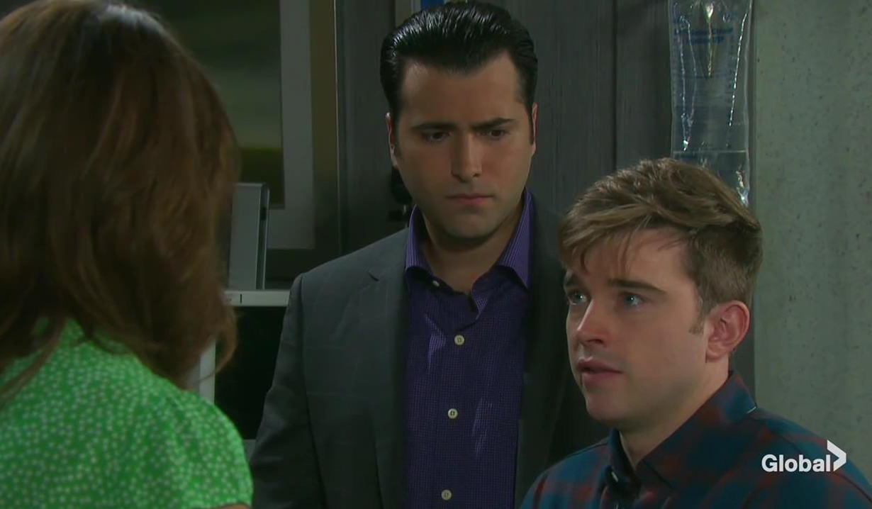 will sonny hear will tumor days of our lives