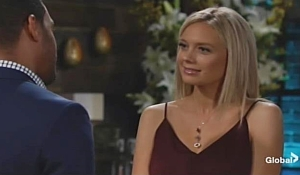 Abby Nate date Young and Restless