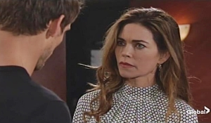 Adam updates Victoria Young and Restless