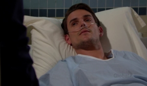 Adam argues with Victoria The Young and the Restless