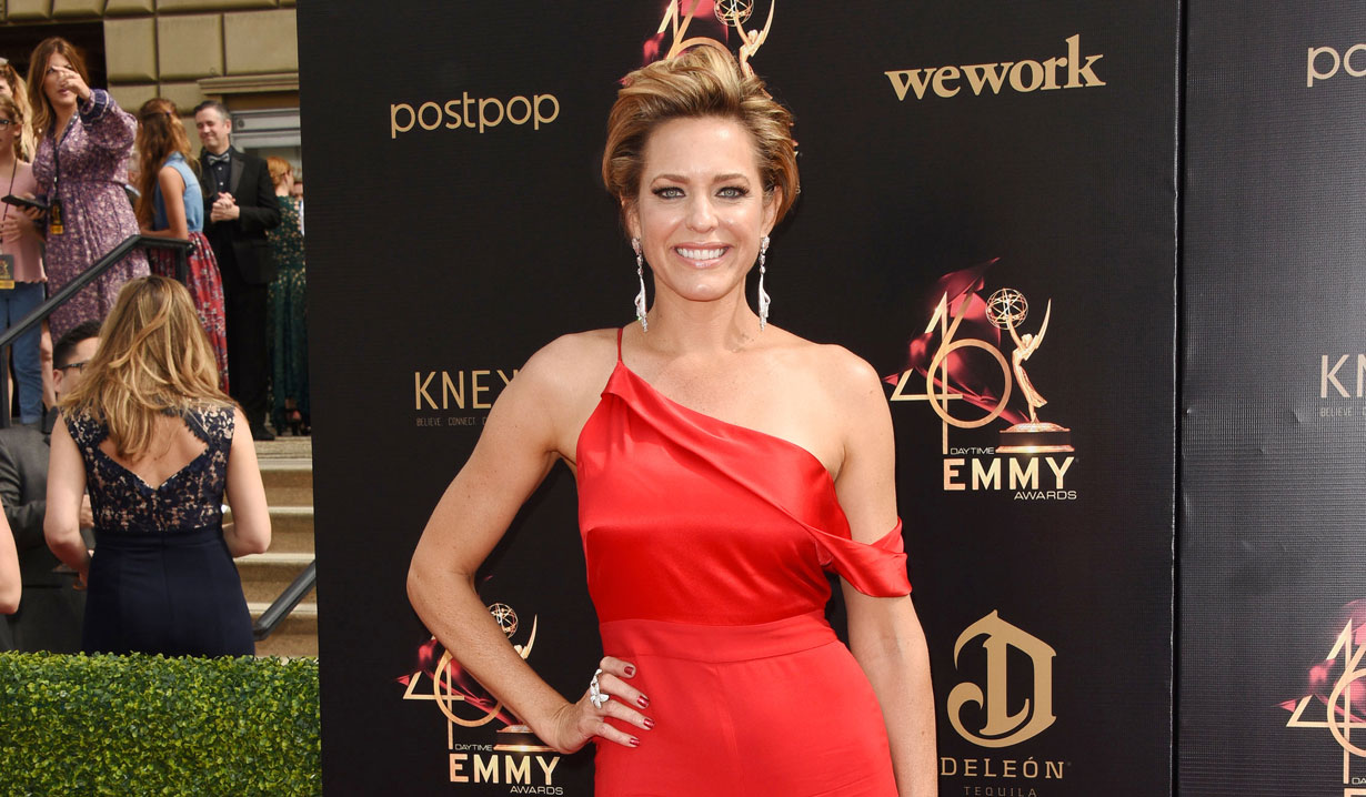 Arianne Zucker Days of our Lives on 2019 Daytime Emmy Red Carpet