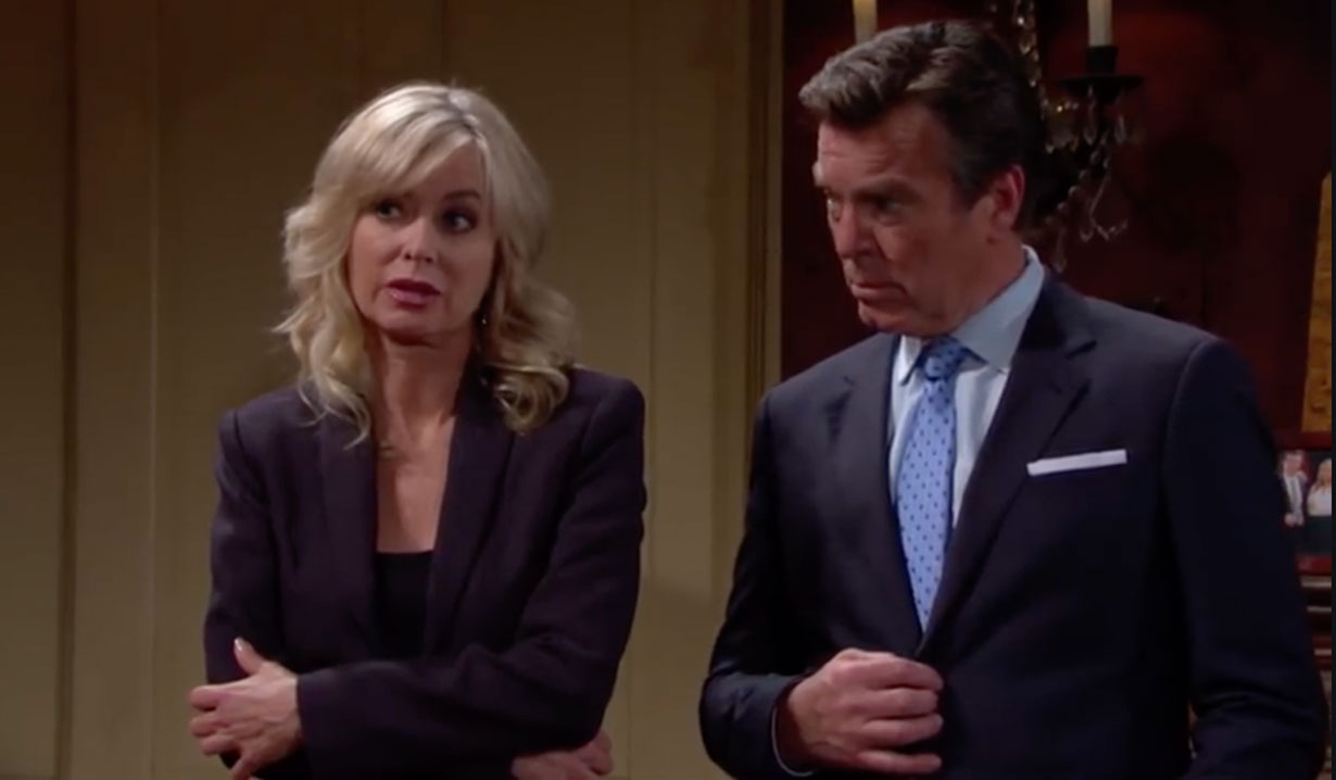 Ashley and Jack discuss Dina on Young and the Restless