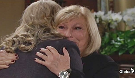 Ashley Traci cry Young and Restless