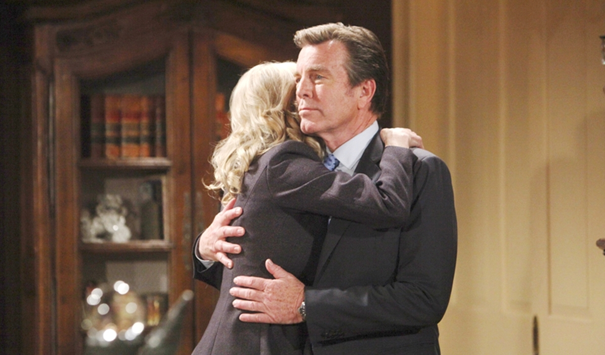 Ashley hugs Jack on Young and Restless
