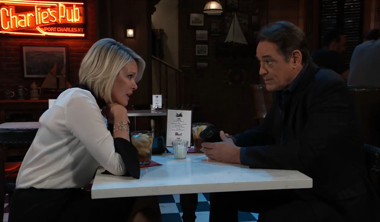 Ava and Kevin discuss his kidney donation General Hospital