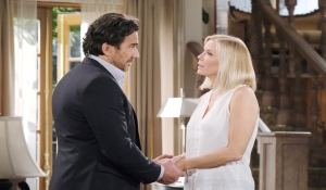 Brooke is surprised by Ridge's feelings The Bold and the Beautiful