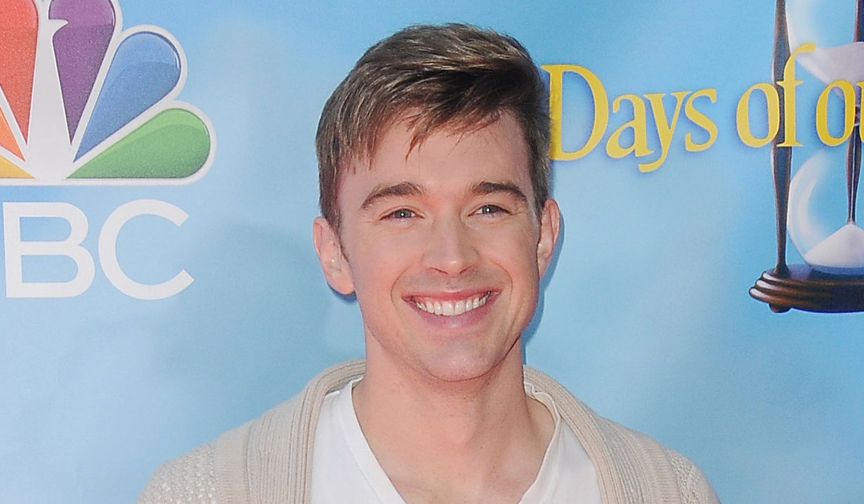 Chandler Massey from Days of our Lives