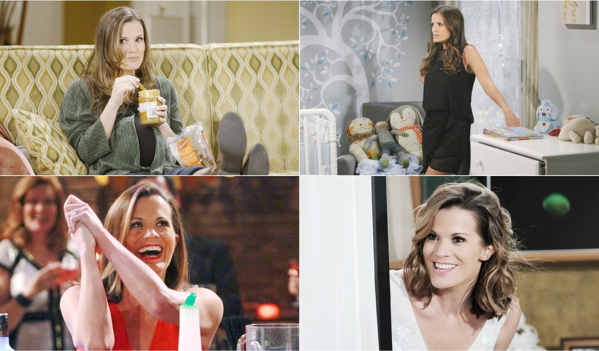 Chelsea Lawson Newman collage Young and Restless