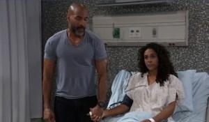 Jordan and Curtis get news from Finn General Hospital