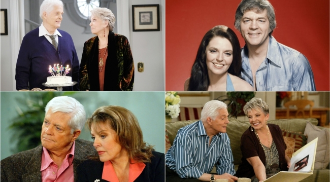 Doug Julie collage Days of our Lives