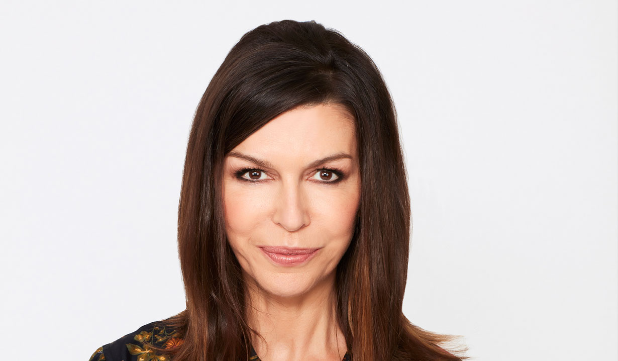 Finola Hughes as Anna Devane on General Hospital