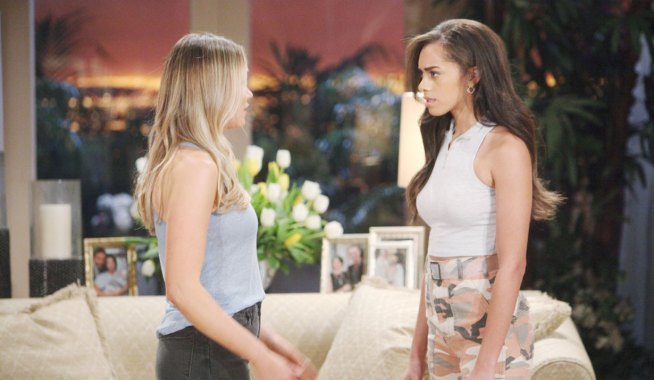 Zoe confronts Flo on Bold and the Beautiful