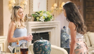 Zoe confronts Flo on Bold and Beautiful