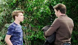 Franco finds Cam in the park General Hospital