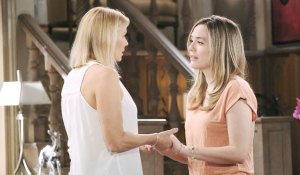 Brooke and Hope talk on Bold and the Beautiful