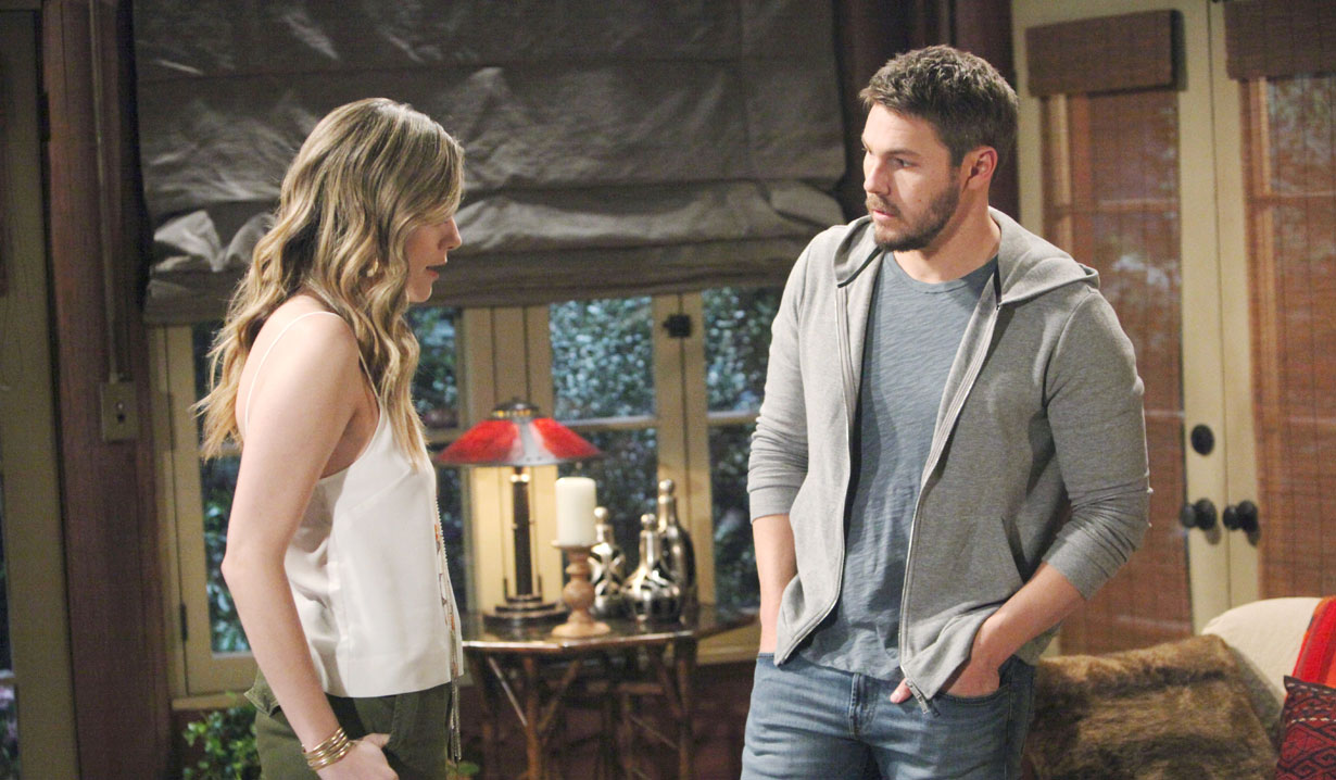 Hope and Liam discuss marriage on Bold and the Beautiful