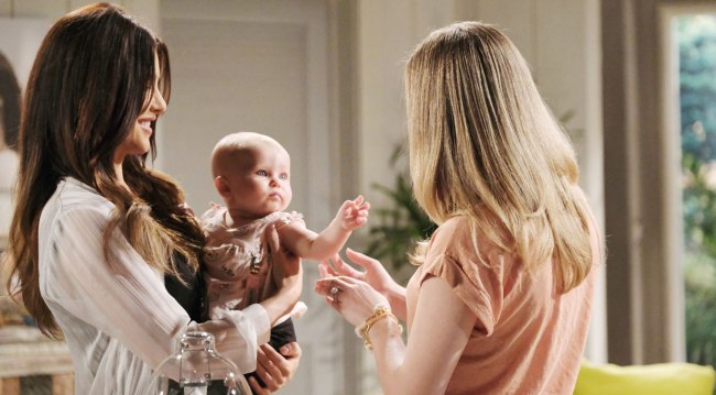 hope reuinted with steffy and phoebe on bold and beautiful