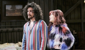 JJ and Haley in disguise on Days of our Lives