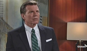 Jack learns that Adam lives on young and restless