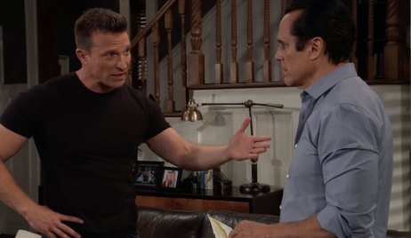 Jason and Sonny discuss Margaux on General Hospital