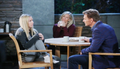 Jax returns to Carly and Joss General Hospital