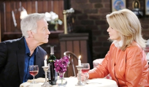 John and Marlena dine on Days of our Lives
