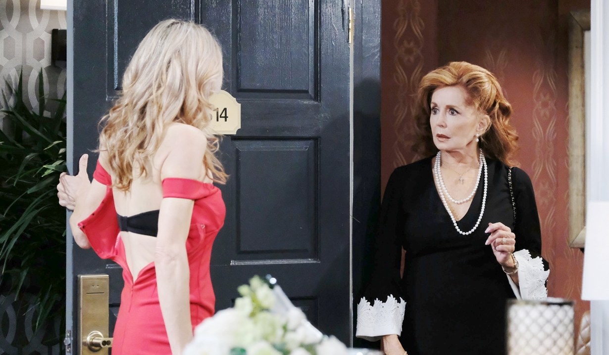 Kristen faces Maggie on Days of our Lives