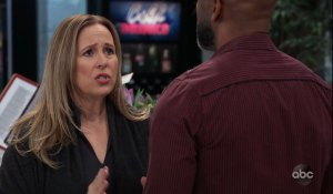 Laura learns about Jordan on General Hospital