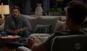 Liam and Wyatt talk on Bold and the Beautiful