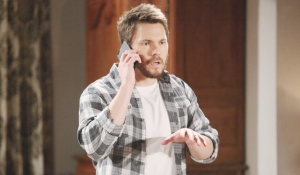 Liam gets news about Hope on Bold and Beautiful