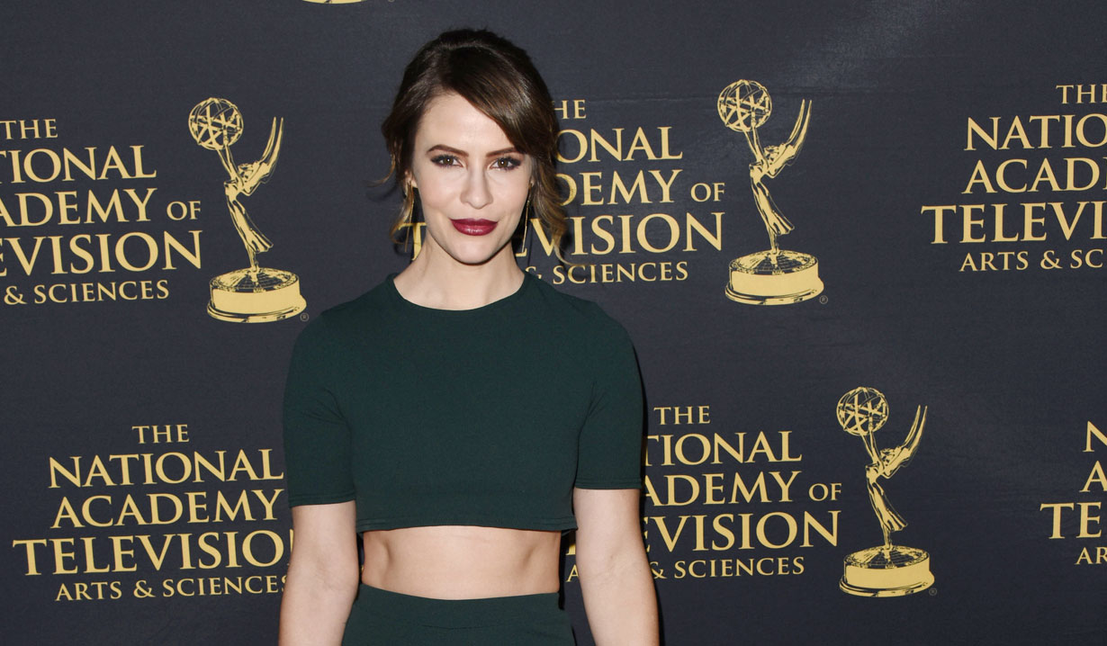 Linsey Godfrey at 2019 Emmy Nominee Party