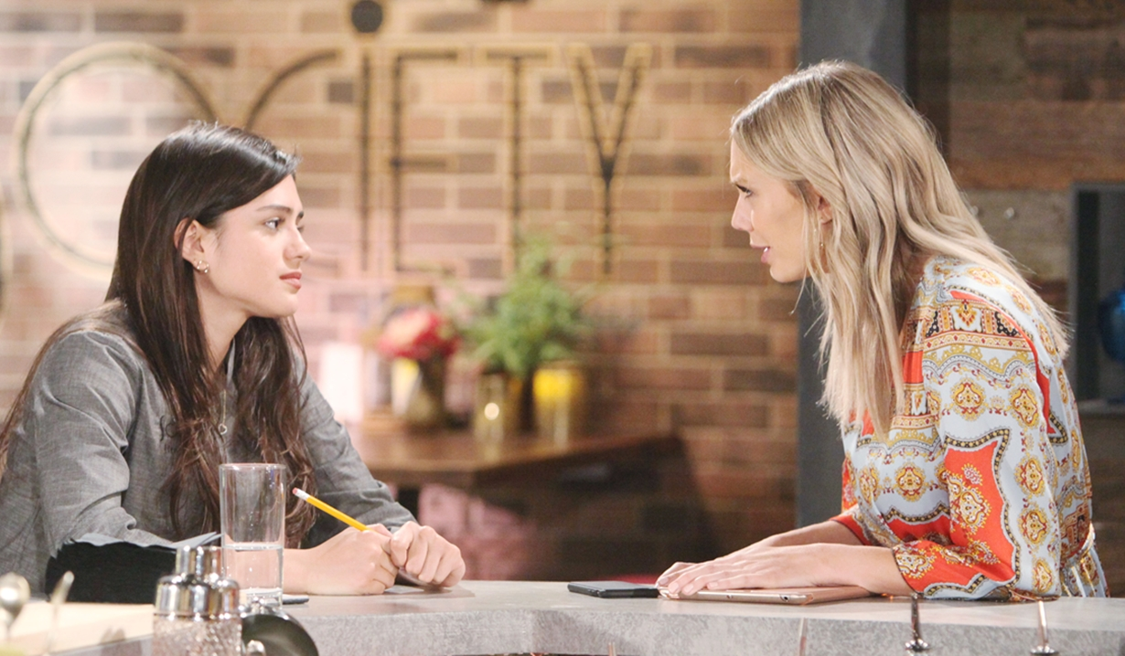Lola updates Abby on Young and Restless