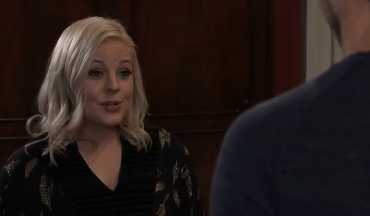 Maxie and Peter are left alone General Hospital
