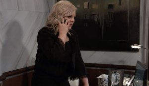 Maxie takes a call on General Hospital