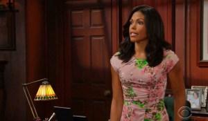 Maya breaks bad news on Bold and Beautiful