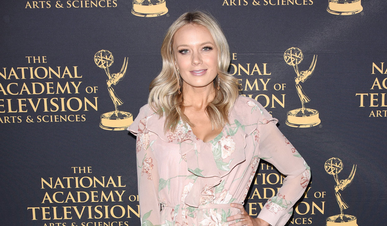 Melissa Ordway-2019 at 2019 Emmy Nominee Party