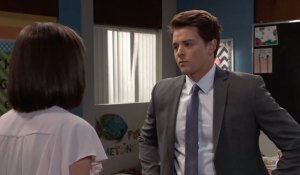 Willow and Michael discuss Wiley on General Hospital
