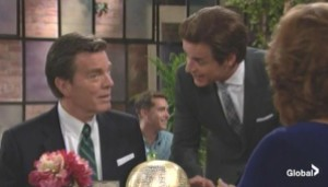 Michael leaves Jack with Claire The Young and the Restless