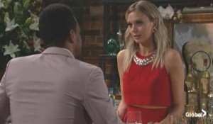 Nate checks on Abby The Young and the Restless