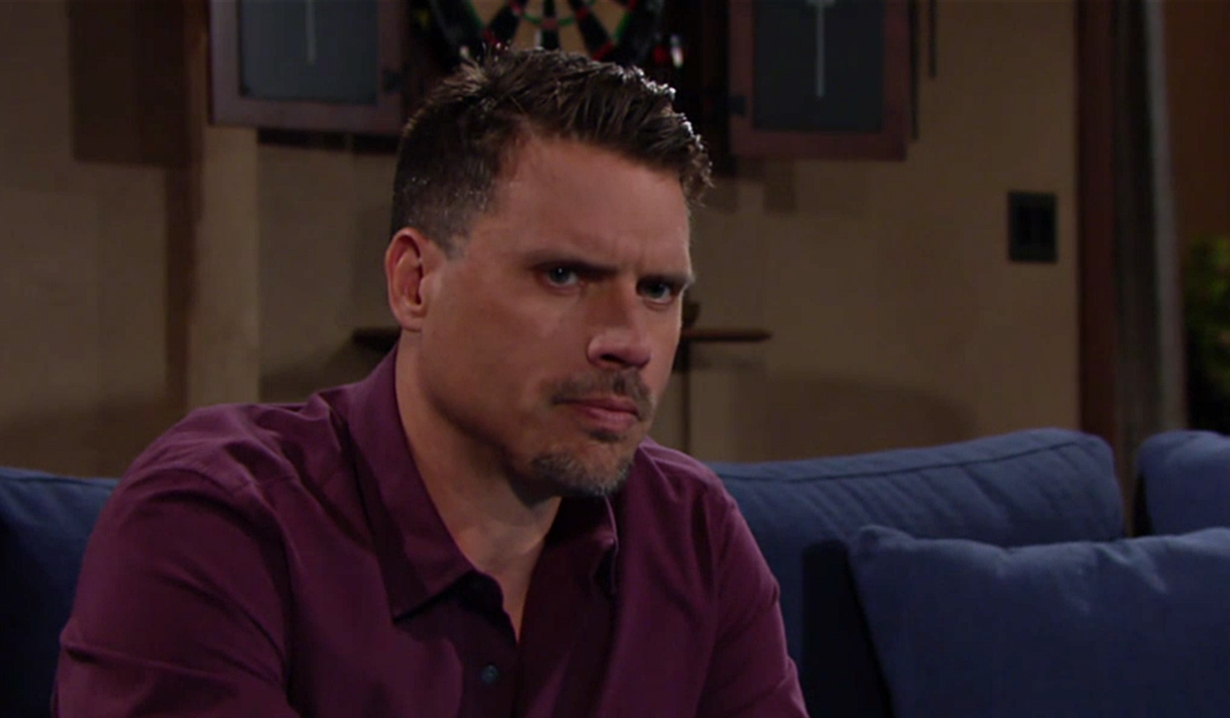 Nick concerned about Adam on Young and Restless