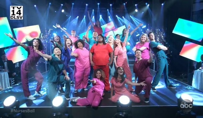 Performers at the Nurses' Ball General Hospital