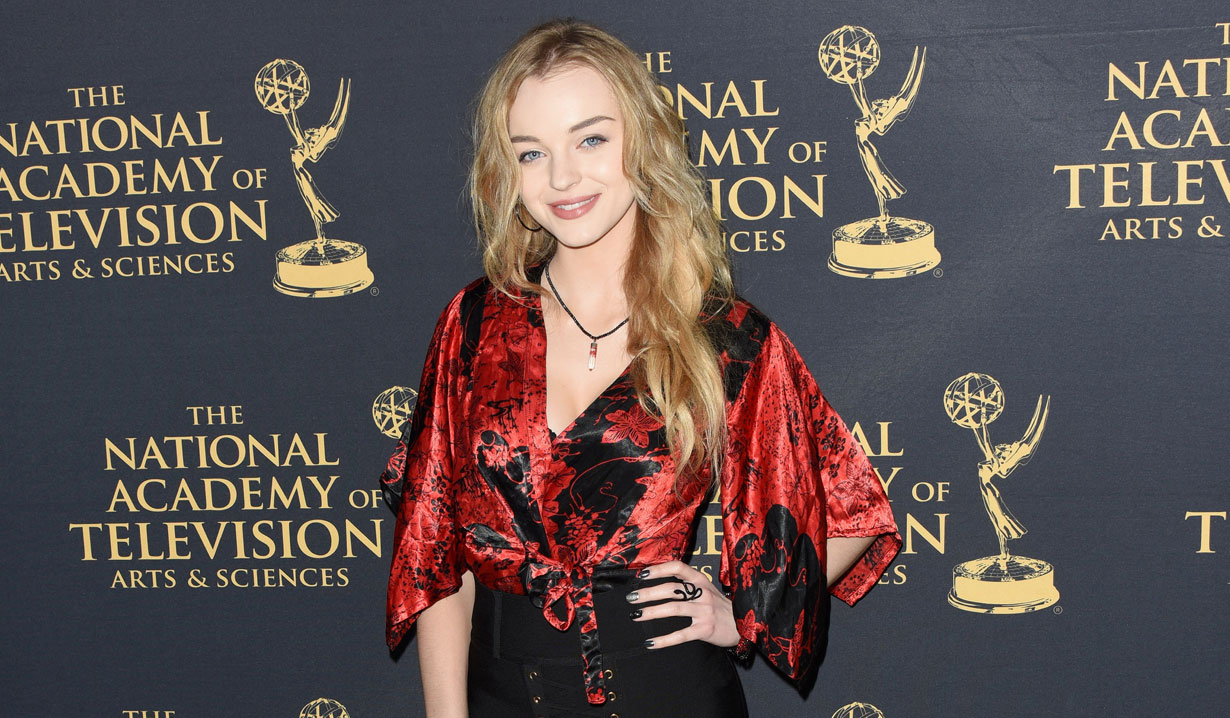 Olivia Rose Keegan at 2019 Emmy Nominee Party