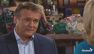 Paul concerned about Nikki on Young and Restless