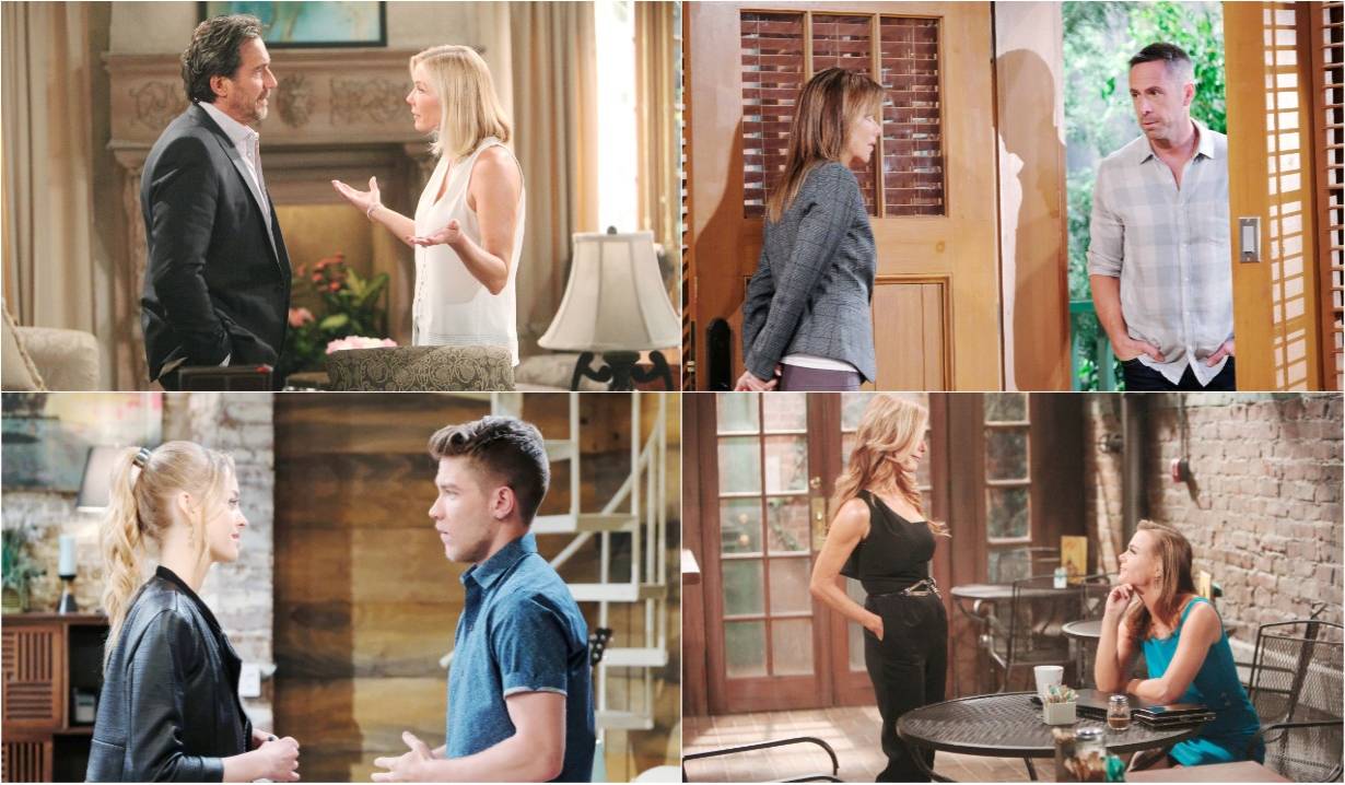 6-3-19 spoilers for bold and beautiful days of our lives general hospital young and restless