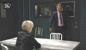 Ava and Scott talk plea General Hospital