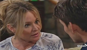 Sharon Adam better man Young and Restless